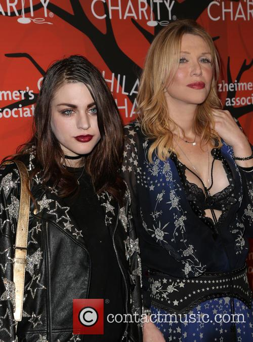 Frances Bean Cobain and Courtney Love 11