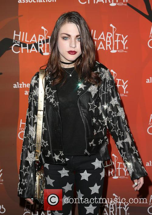 Frances Bean Cobain at a charity event