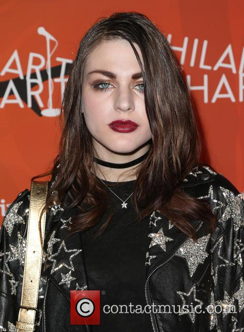 Frances Bean Cobain at the Hilarity for Charity variety show