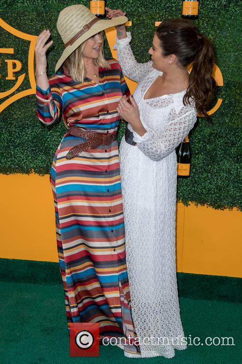 Becca Tobin and Lea Michele 1