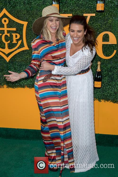 Becca Tobin and Lea Michele 3