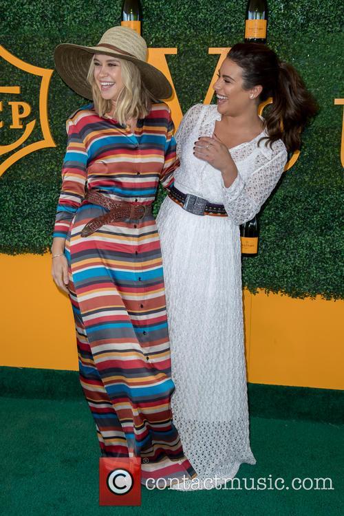 Becca Tobin and Lea Michele 4