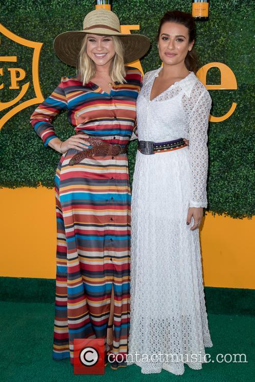 Becca Tobin and Lea Michele 7