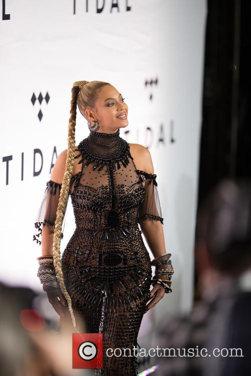 Beyonce at a Tidal event