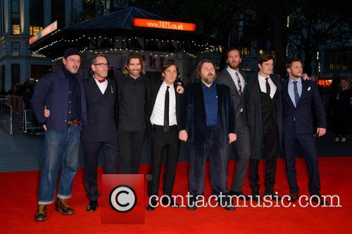 Enzo Cilenti, Michael Smiley, Ben Wheatley, Armie Hammer, Sam Riley, Cillian Murphy, Babou Ceesay, Sharlto Copley and Jack Reynor 1