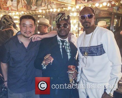 Snoop Lion, Snoop Dogg, Bishop Don Magic Juan and Garry Prophecy Sun 3