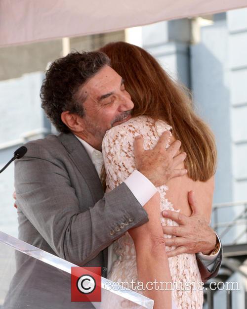 Chuck Lorre and Allison Janney 2