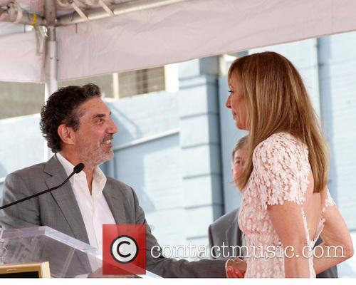 Chuck Lorre and Allison Janney 3