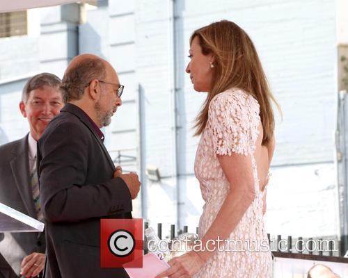 Richard Schiff and Allison Janney 3