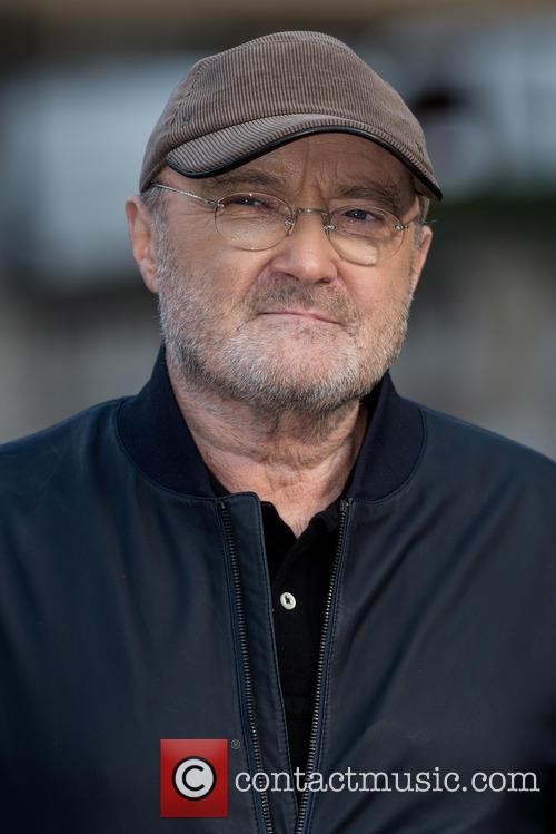 Phil Collins attends photocall outside the Royal Albert...