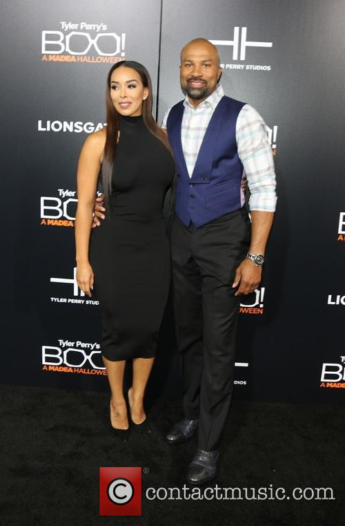 Gloria Govan and Derek Fisher 9