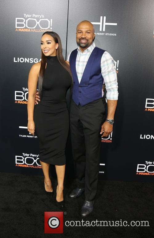 Gloria Govan and Derek Fisher 10