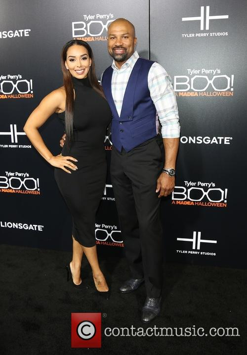 Gloria Govan and Derek Fisher 11