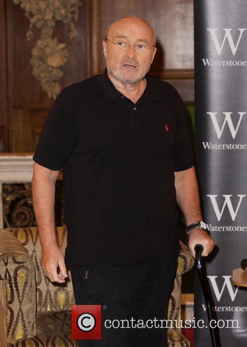 Phil Collins attends photocall