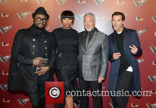 Will.iam, Jennifer Hudson, Tom Jones and Gavin Rossdale