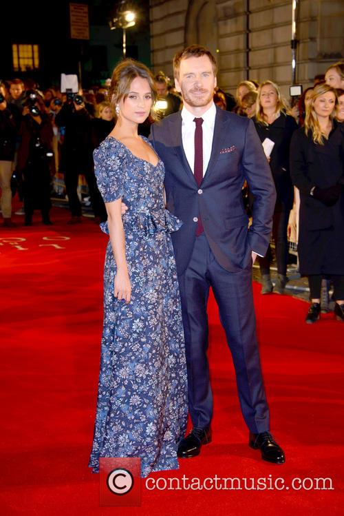 Alicia Vikander and Michael Fassbender 2