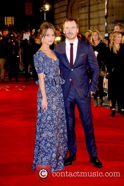 Alicia Vikander and Michael Fassbender 3
