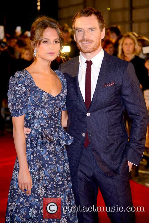 Alicia Vikander and Michael Fassbender 4