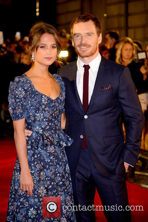 Alicia Vikander and Michael Fassbender 5