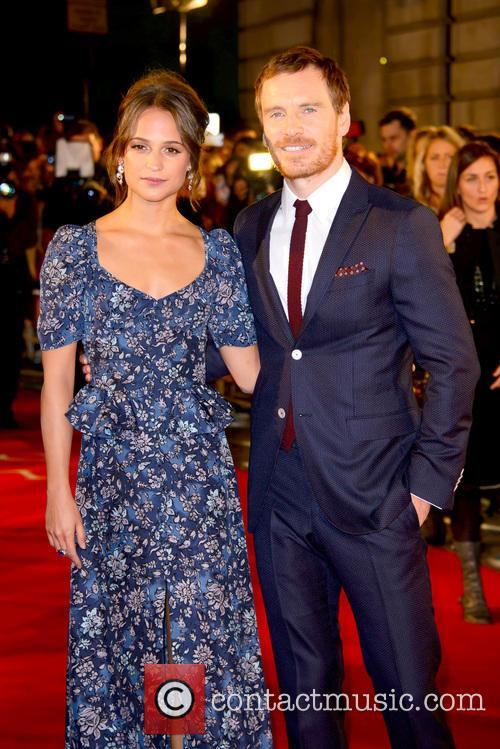 Alicia Vikander and Michael Fassbender 7