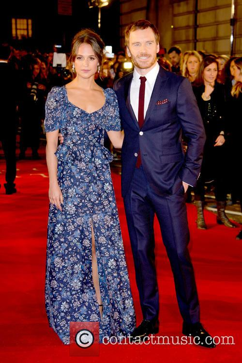 Alicia Vikander and Michael Fassbender 8