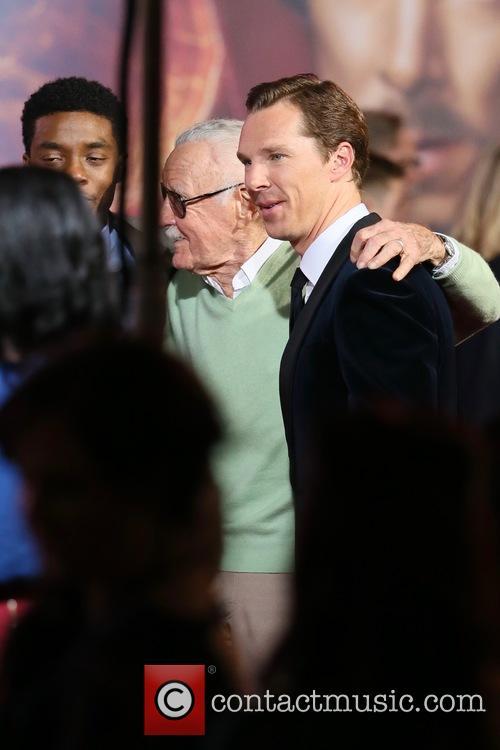 Stan Lee and Benedict Cumberbatch 1