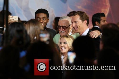 Stan Lee and Benedict Cumberbatch 8