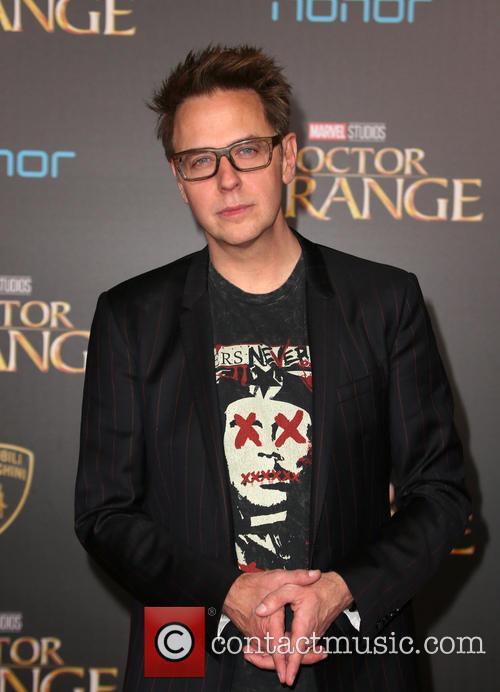 James Gunn at the 'Doctor Strange' premiere