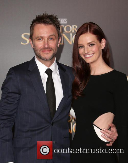 Chris Hardwick and Lydia Hearst 9