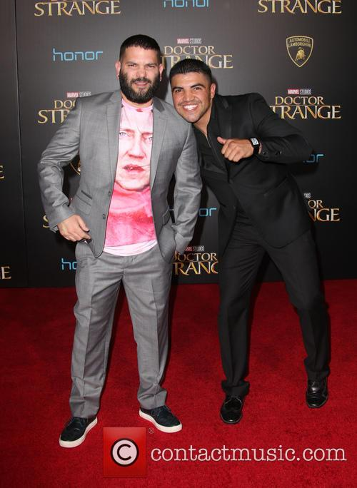 Guillermo Diaz and Victor Ortiz 7