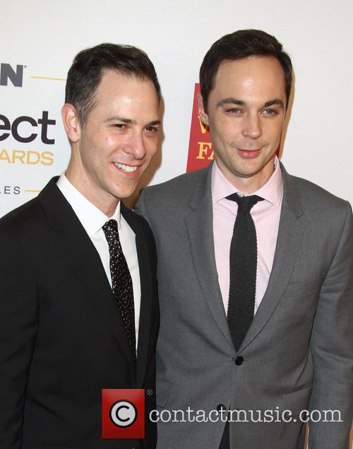 Todd Spiewak and Jim Parsons at the 2016 GLSEN Respect Awards