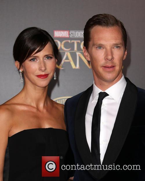 Benedict Cumberbatch and Sophie Hunter 5
