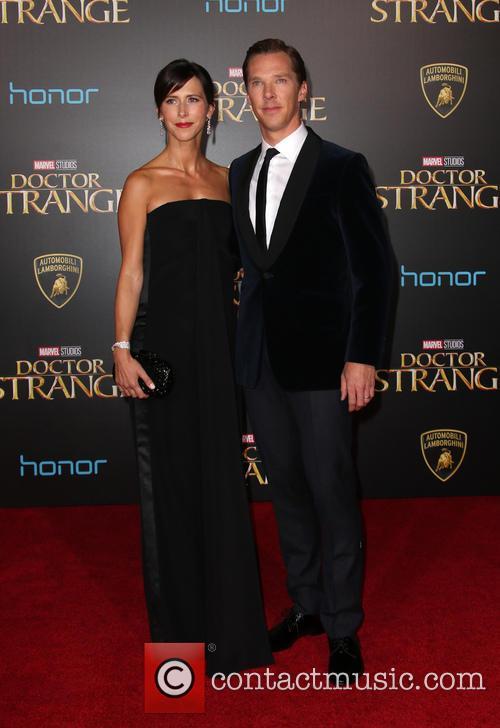 Benedict Cumberbatch and Sophie Hunter 8