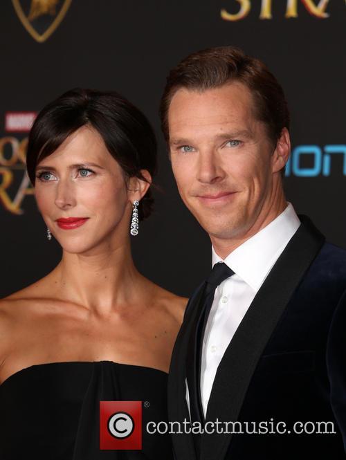 Benedict Cumberbatch and Sophie Hunter 11