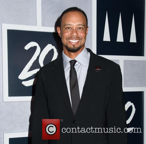 Tiger Woods at the Tiger Woods Foundation 20th Anniversary gala