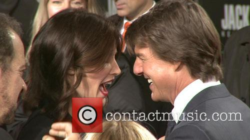 Tom Cruise and Cobie Smulders 1