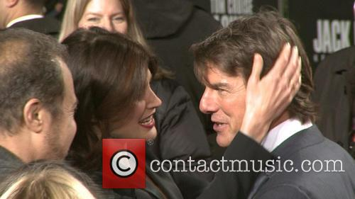 Tom Cruise and Cobie Smulders 2