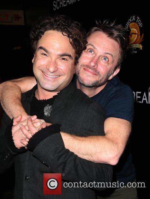 Johnny Galecki and Chris Hardwick