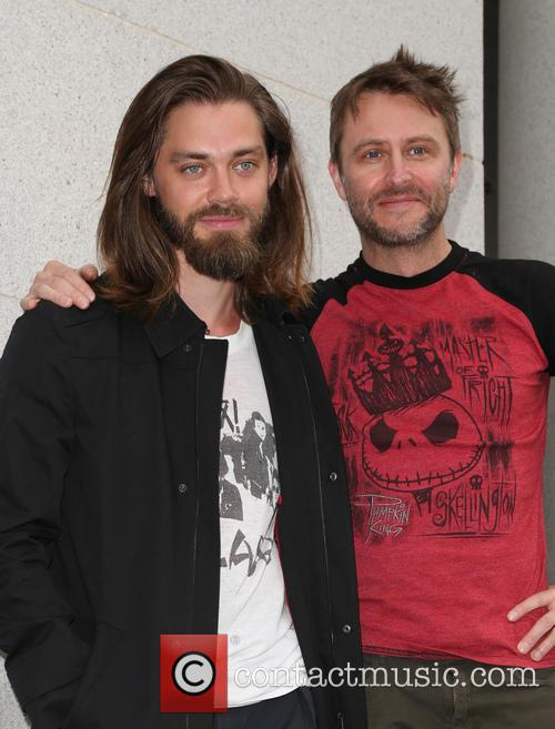 Tom Payne and Chris Hardwick 2