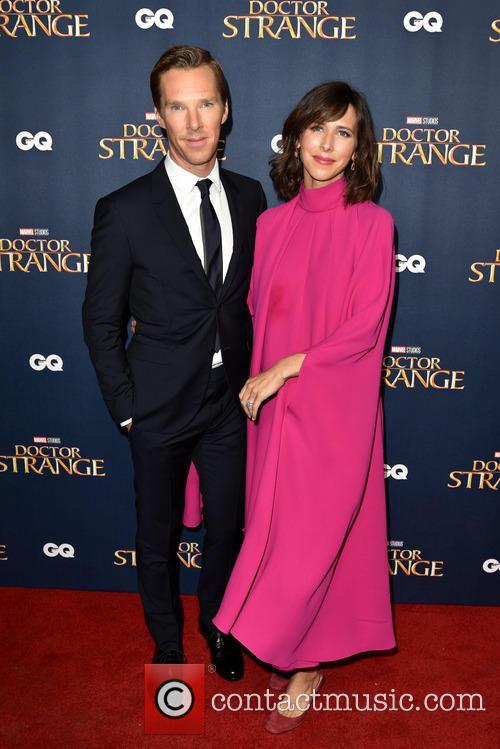 Benedict Cumberbatch and Sophie Hunter 1