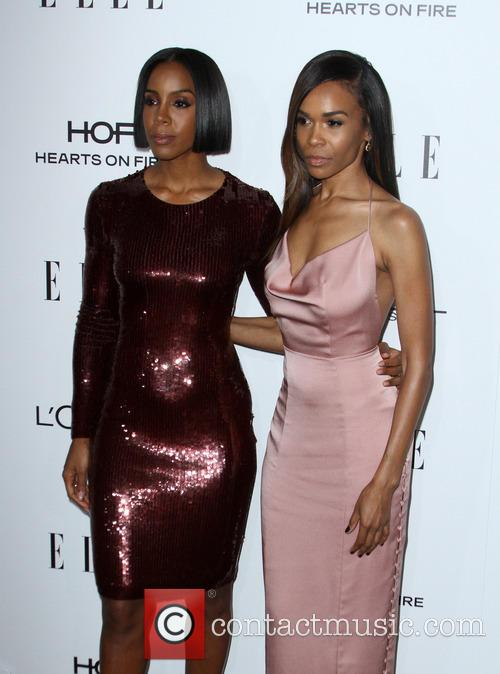 Kelly Rowland and Michelle Williams 9