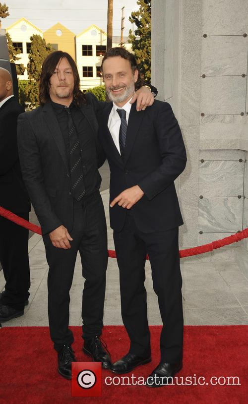 Norman Reedus and Andrew Lincoln 1