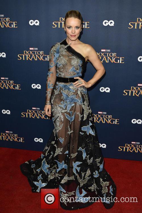 Rachel McAdams at the 'Doctor Strange' launch