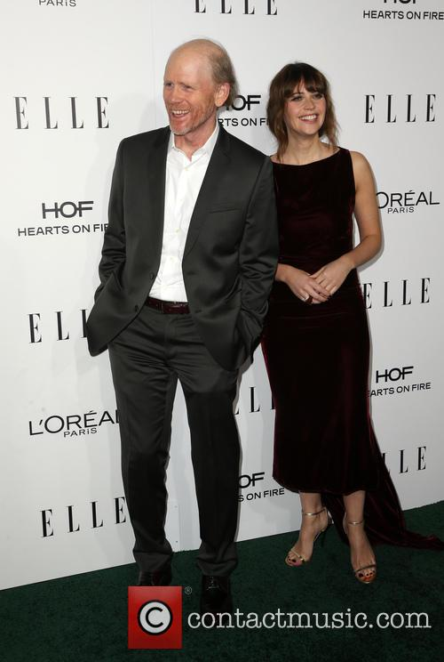 Ron Howard and Felicity Jones