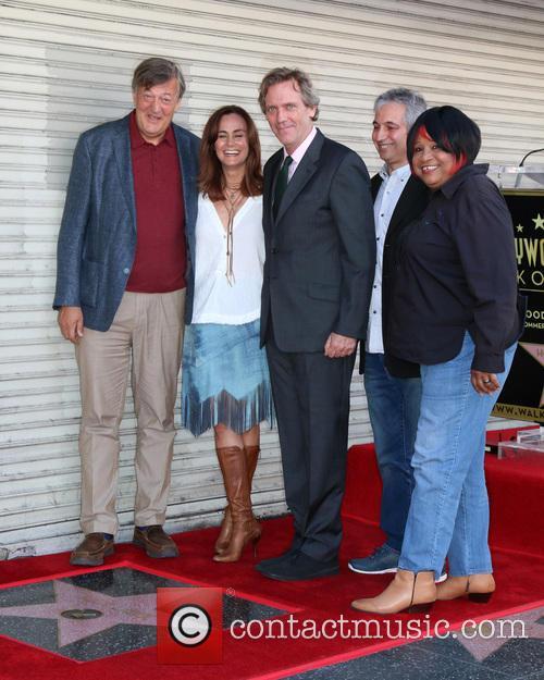 Stephen Fry, Diane Farr, Hugh Laurie, David Shore and Jean Mcclain Aka Pepper Mashay 3