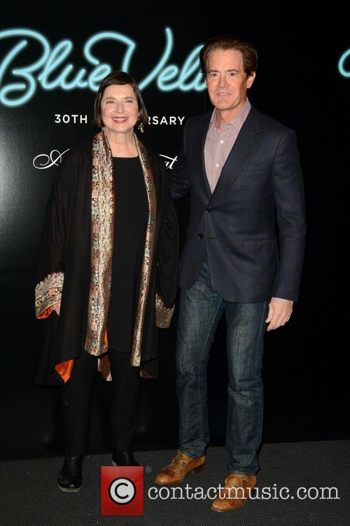 Isabella Rossellini and Kyle Maclachlan 8