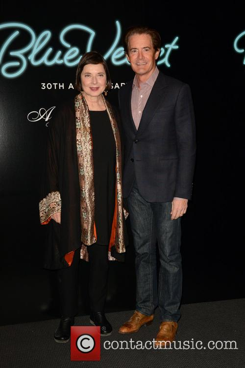 Isabella Rossellini and Kyle Maclachlan 9