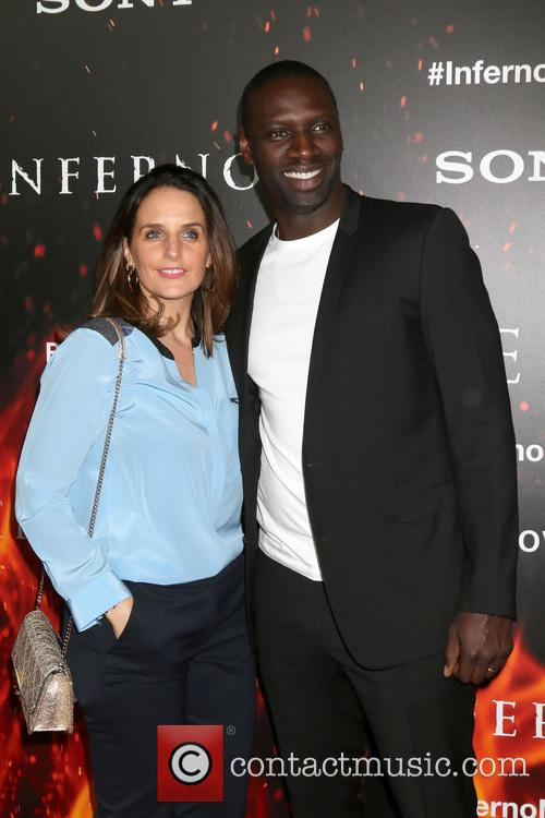 Helene Sy and Omar Sy