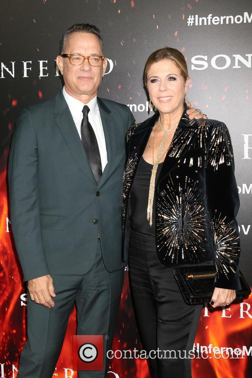 Tom Hanks at the Inferno premiere