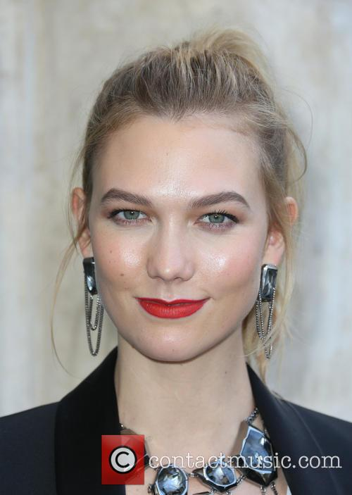 Karlie Kloss makes an in-store appearance
